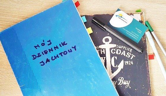 Zeszyt niebieski jak morze – o tym jak  osiągać cele i zamieniać marzenia na działanie.